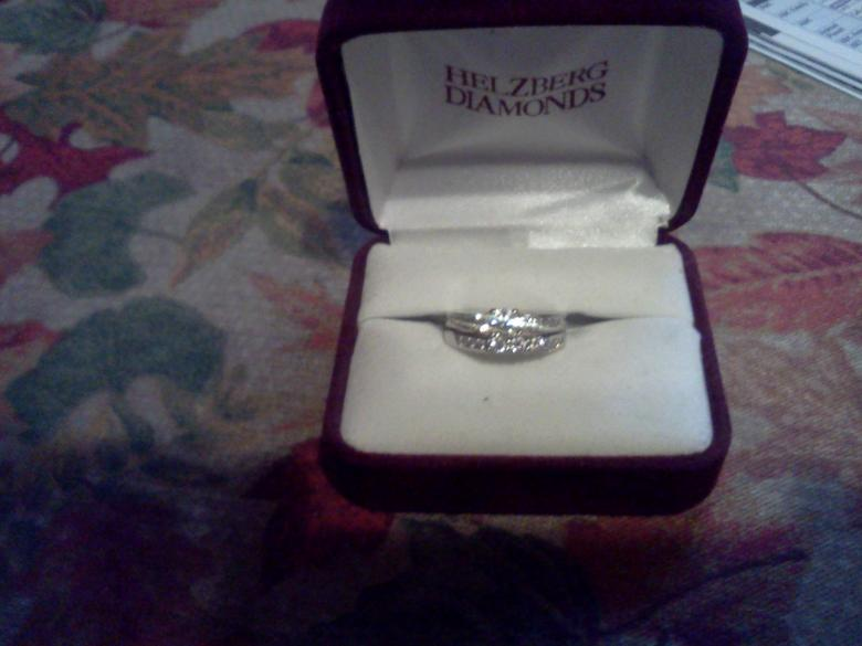 Helzberg Masterpiece Diamond Engagement Set I Do Now I Dont