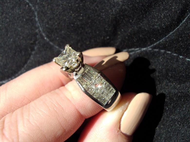 Attrayant 3 Carat Diamond U0026 Platinum Ring 1.10 Center Stone* $11,500 Certified  Appraisal | I Do Now I Donu0027t