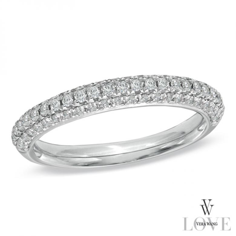 Vera Wang LOVE Collection 1 CT TW Diamond Engagement Ring in