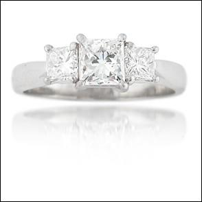 Engagement ring 1.55ct