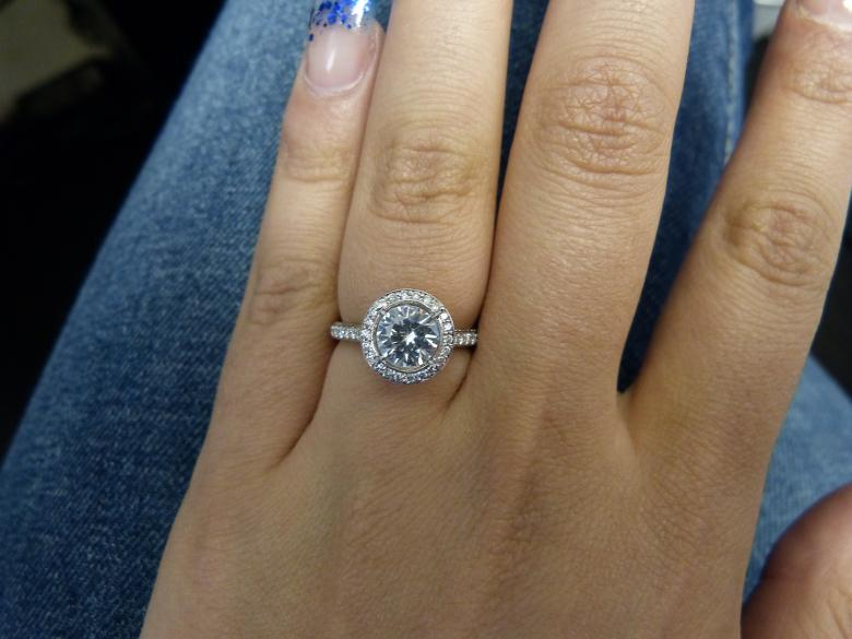 Remarkable GIA Engagement ring