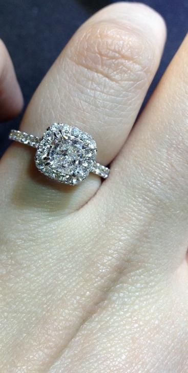 Cushion Cut Engament