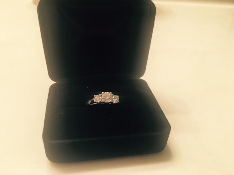 2 0 Carat Platinum Diamond Engagement Ring Price cut by $1 000