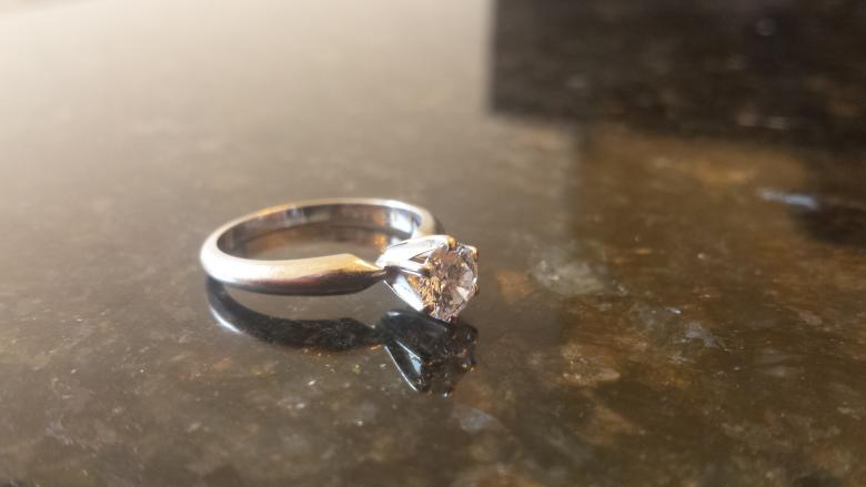 Lady's Clarity Enhanced 0.65ct