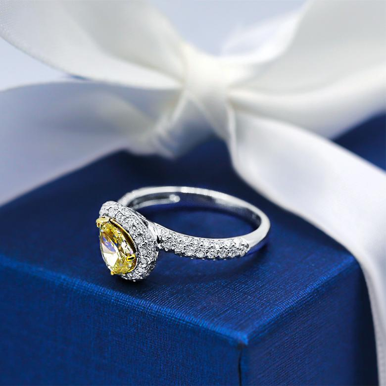 Impressive GIA Certified Engagement