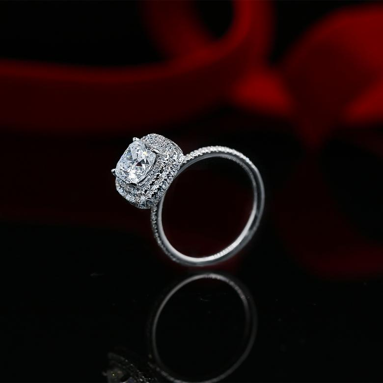 Certified 14k White Gold
