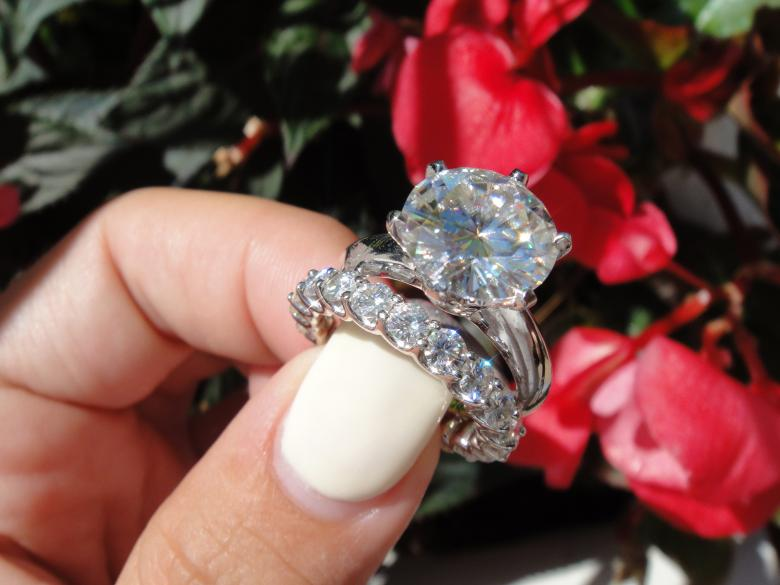 7.00 carat Forever one