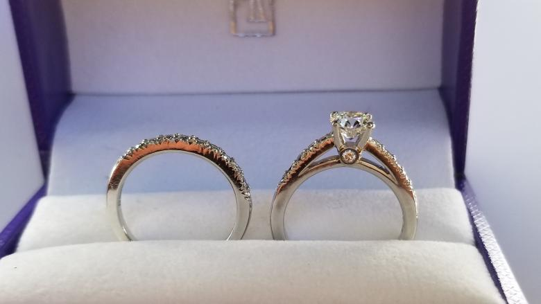 a04bc230623e3 Scott Kay Designer Platinum Engagement Ring set with Hearts on Fire ...