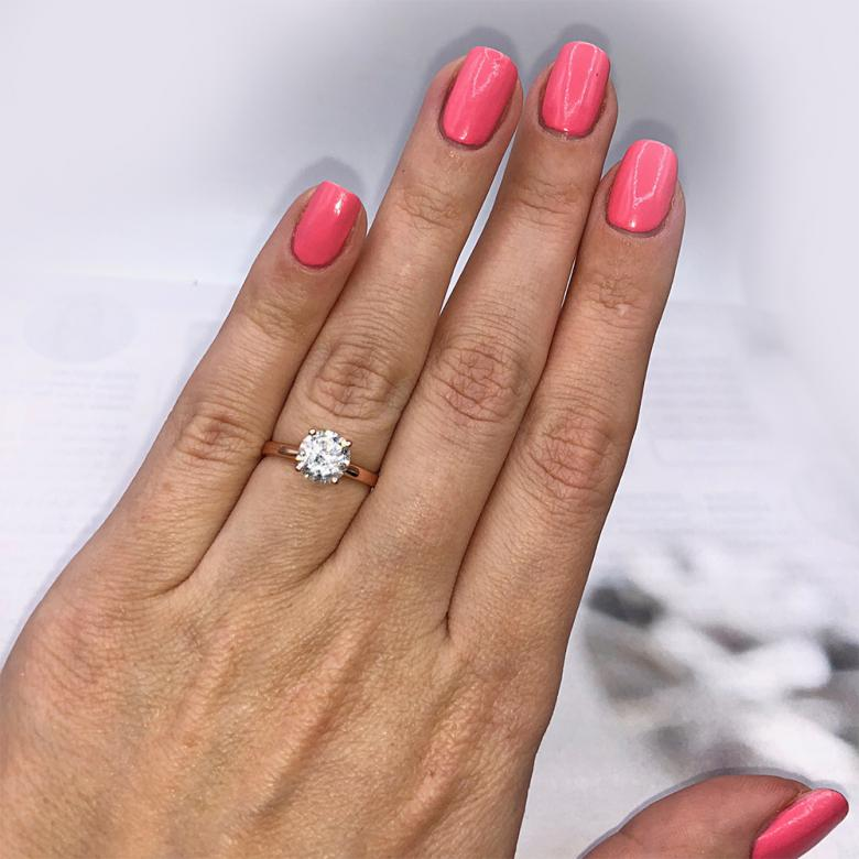 !!!Engagement Ring with Center