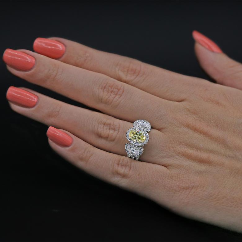 Cocktail Ring with 2.50