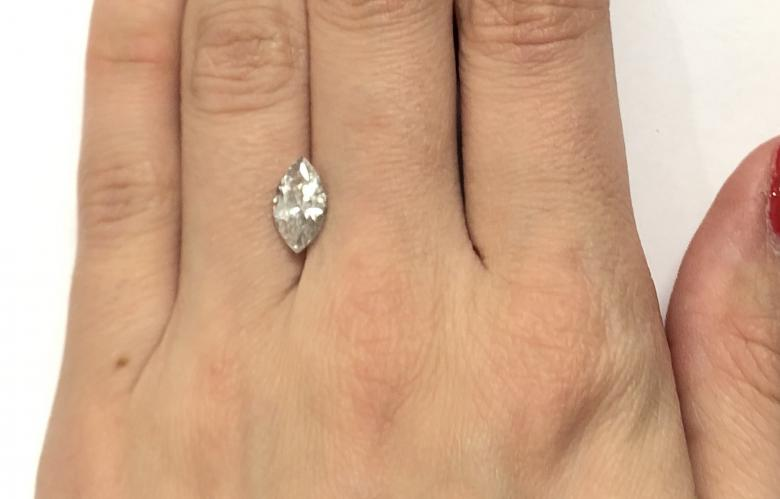 1.65 ct Marquise Shaped