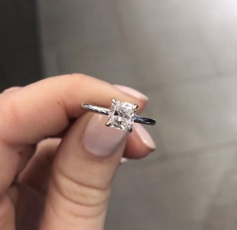Classic Engagement Ring Big Look For The Less Value