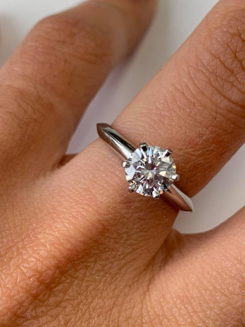 Tiffany & Co Solitaire