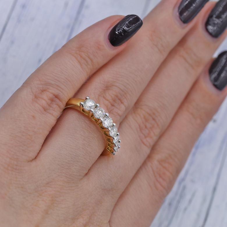 Magnificent Yellow Gold Engagement