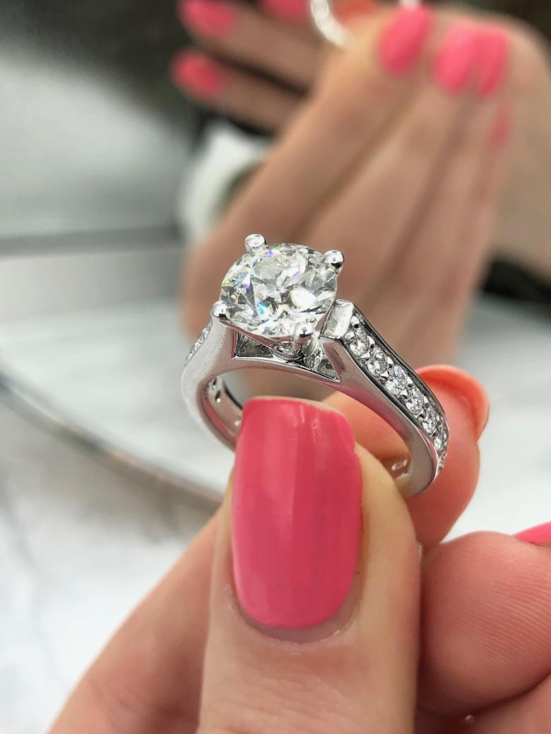 Certified Engagement Ring VIDEO