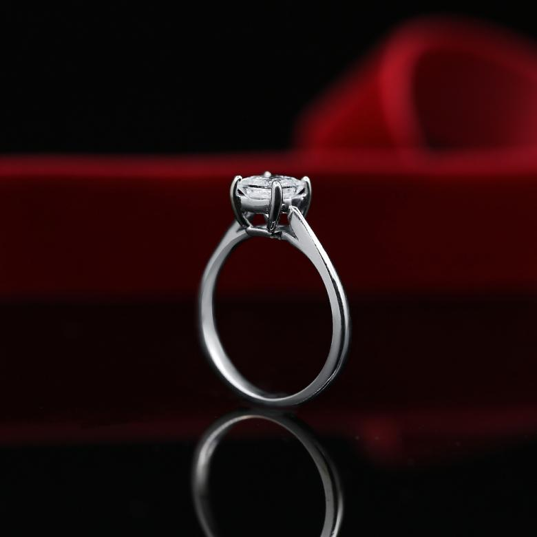 Engagement Ring with Solitaire