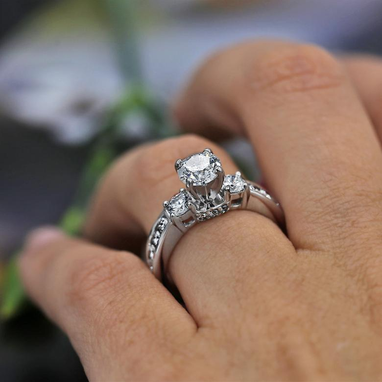 Exclusive 14k White Gold