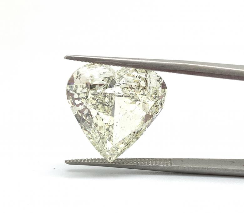 11.15 ct Heart Shape