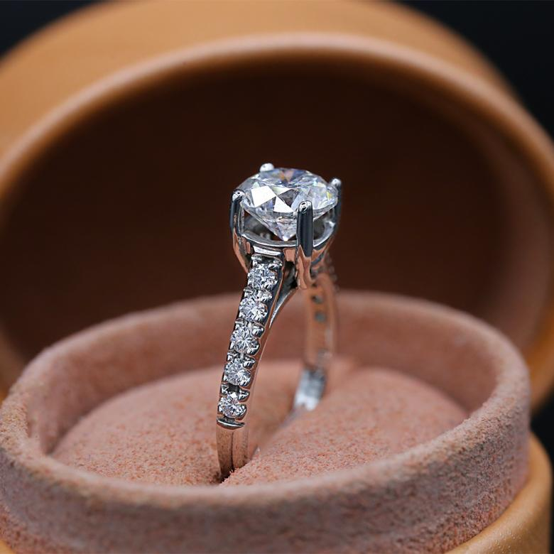 Classic Round Engagement Ring
