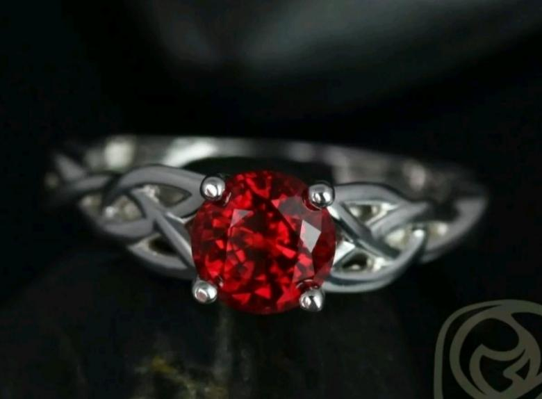 Hand Crafted White Gold