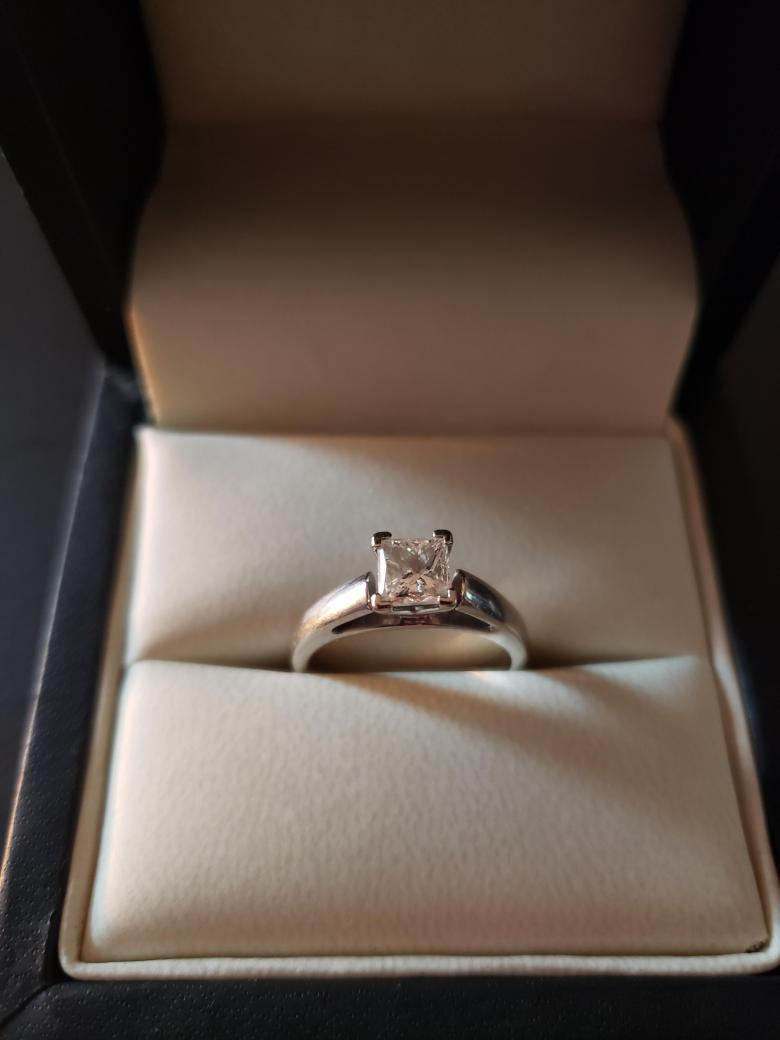 .71 Carat Princess Cut