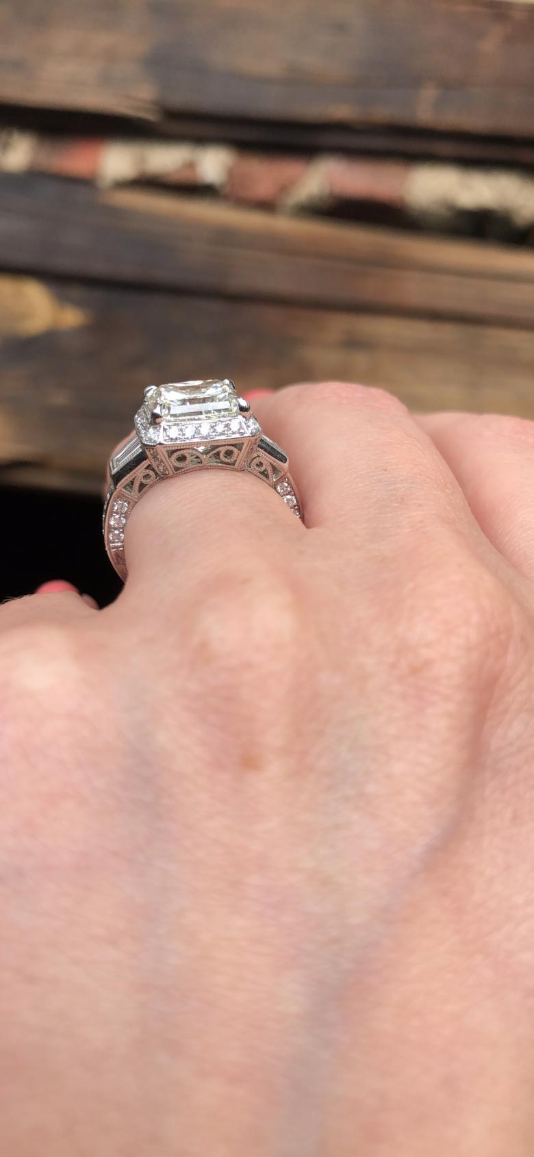 Radiant Cut Beautiful engagement