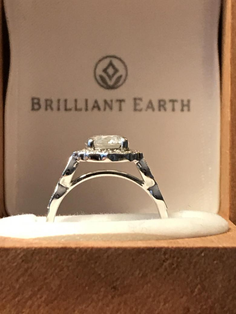 Brilliant Earth Cadenza Halo