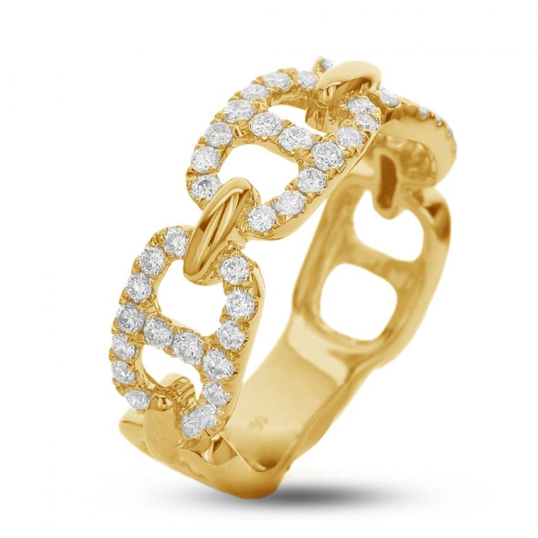 Fashion ring with 0.55ct.
