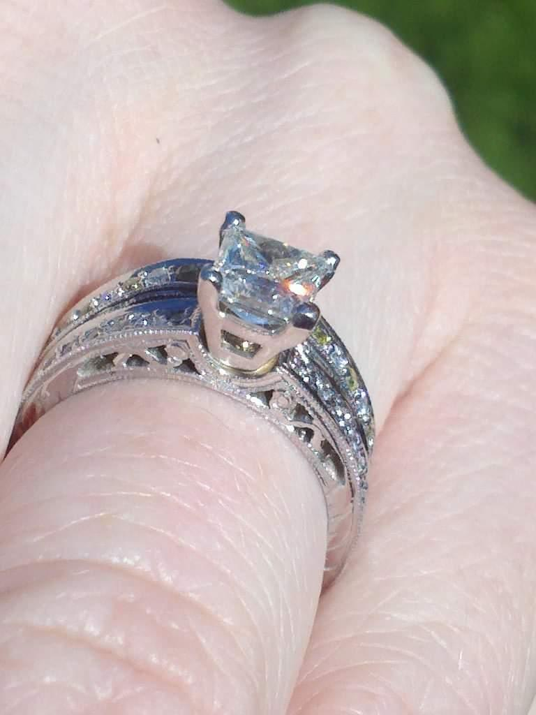 Custom Princess Cut Diamond