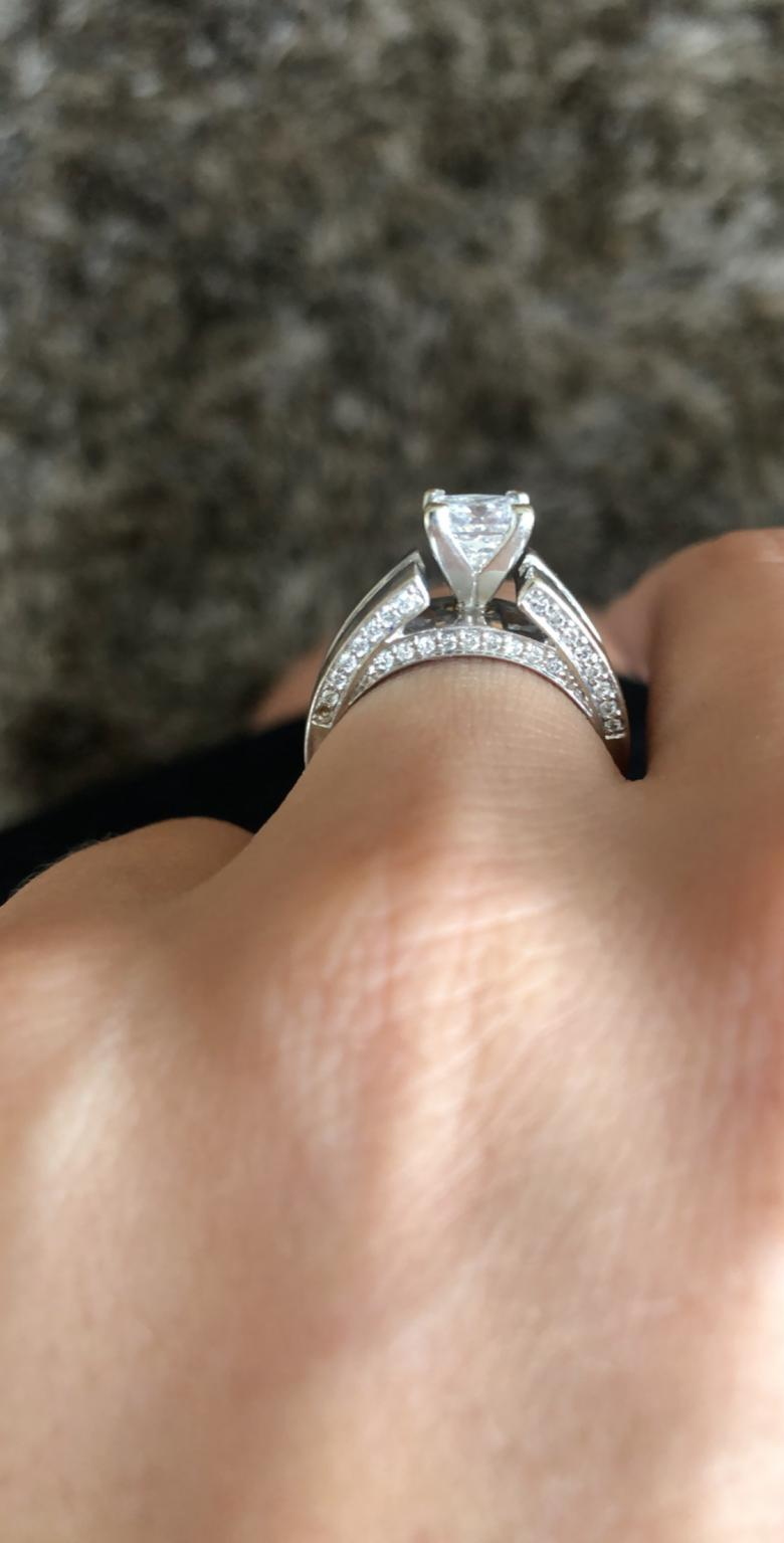 Stunning Princess Cut