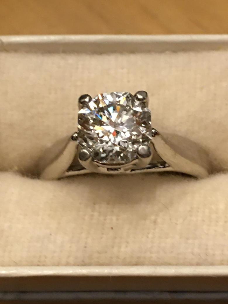 Two-Carat Beautifully Clear Solitaire