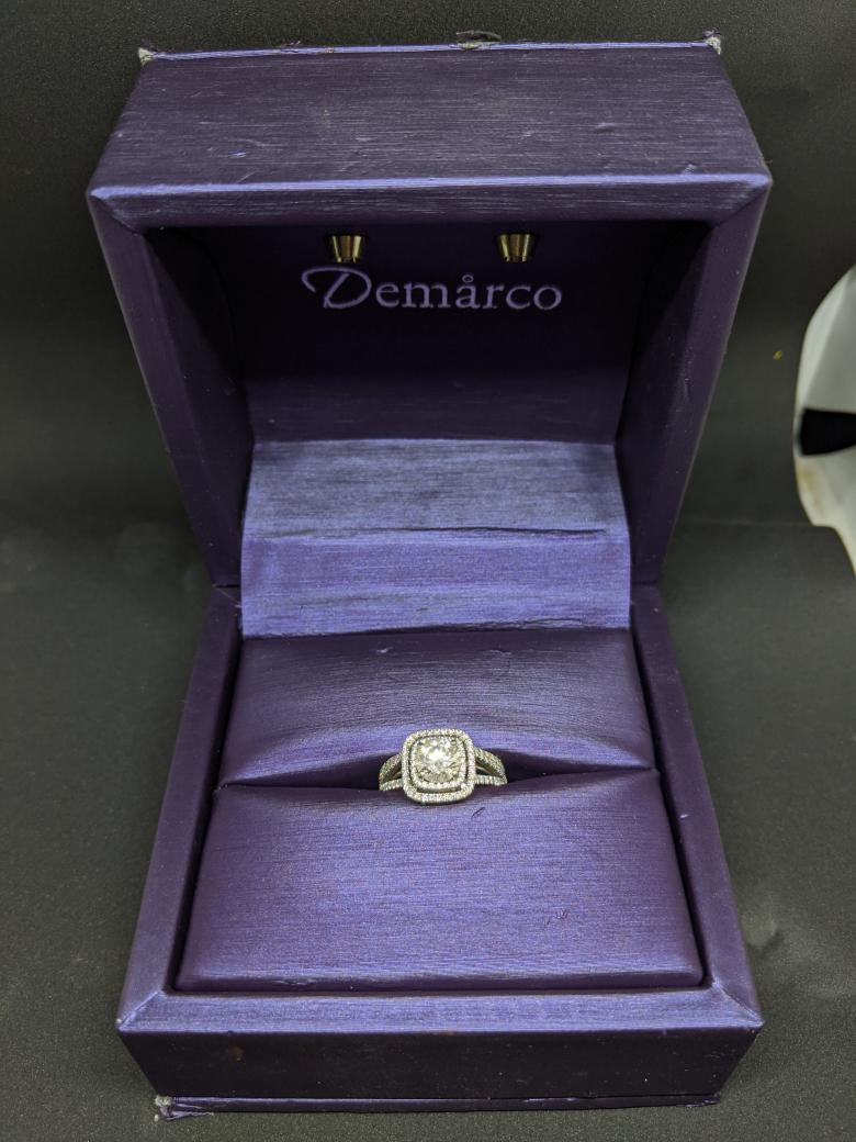 Demarco 18K White Gold