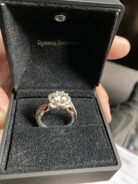 Verragio engagement ring. .5