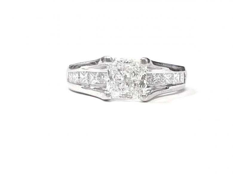 1.00 ct Princess Cut