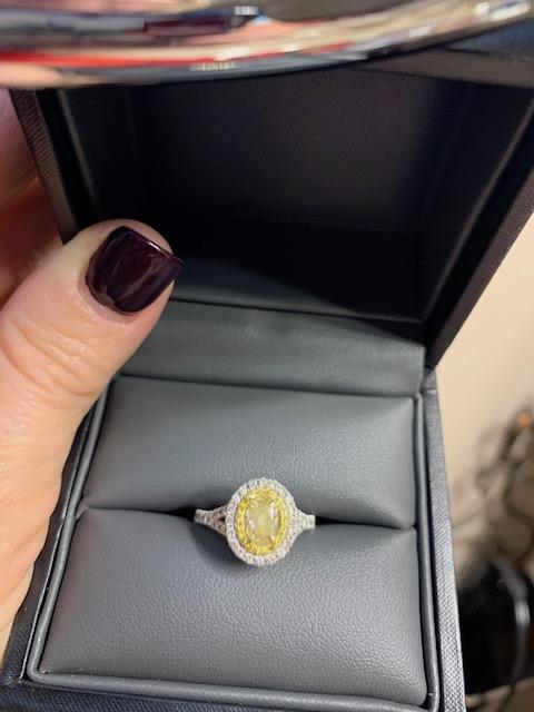 YELLOW DIAMOND RING!!!!