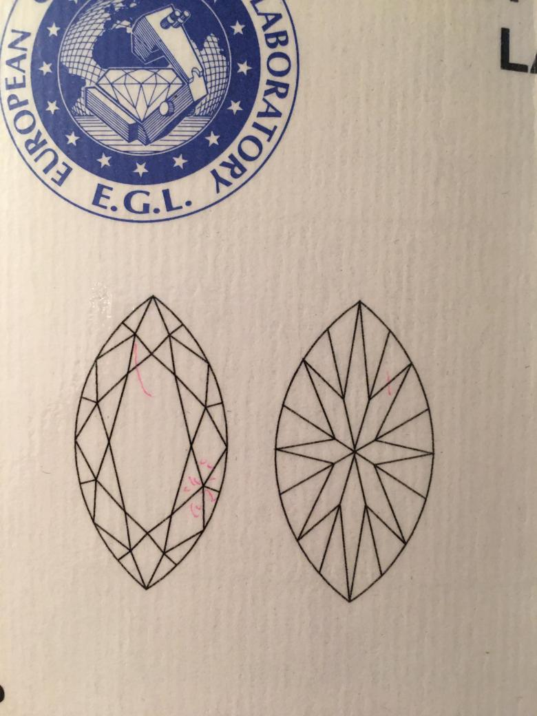 .70 CT Marquise loose