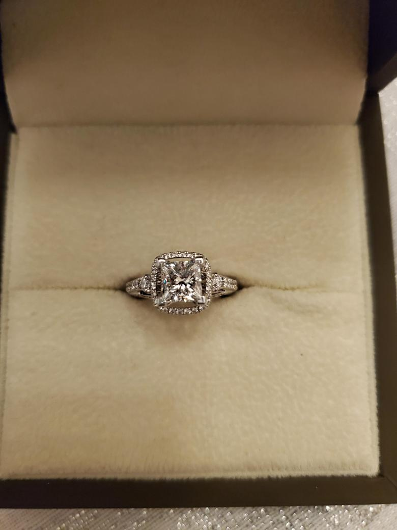 Natalie K Engagement ring