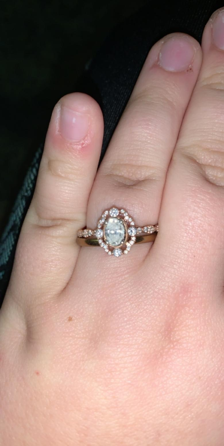 Helzberg Engagement ring and