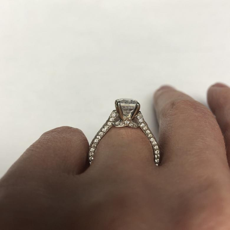 Delicate Princess Cut with