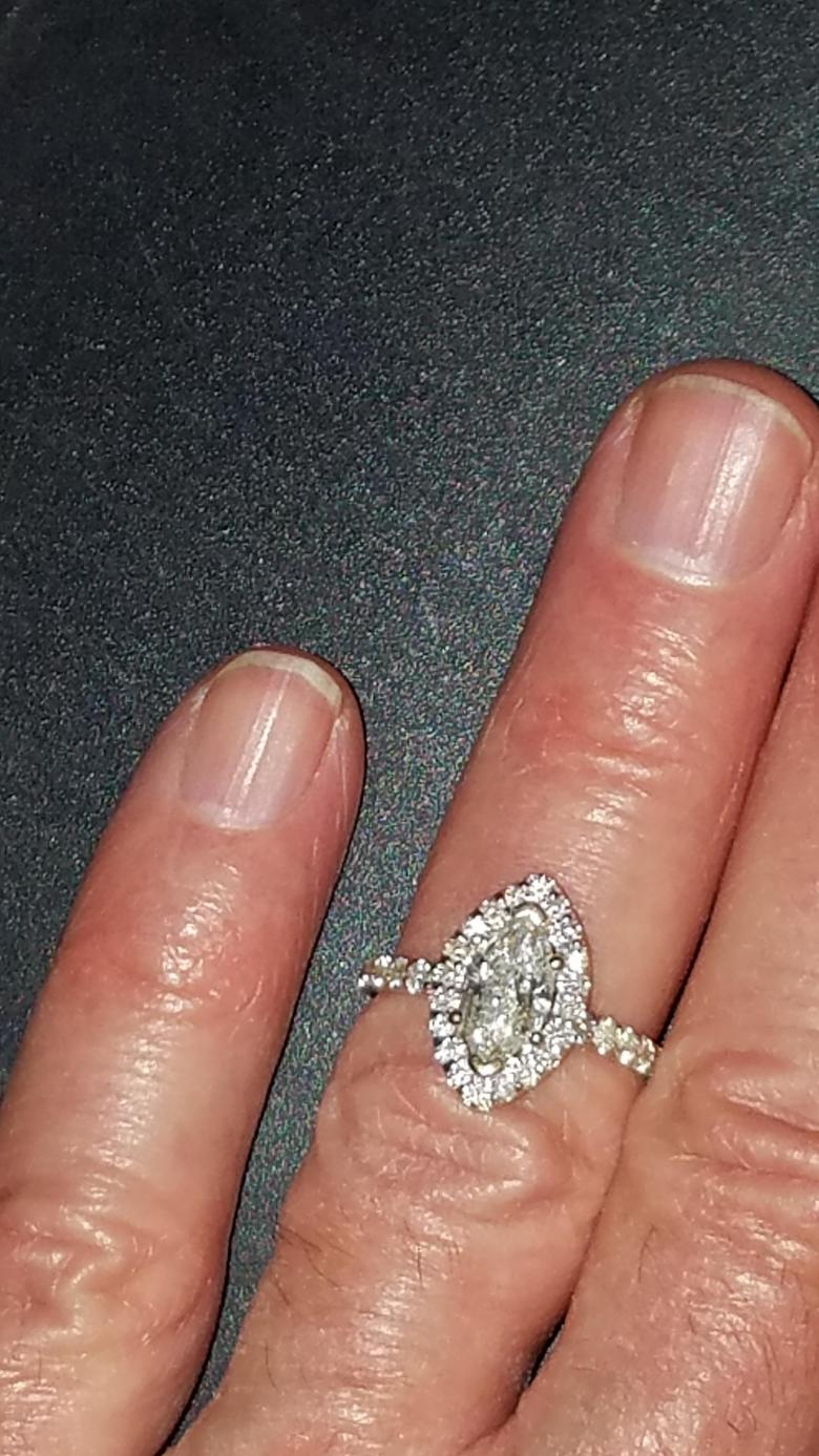 Beautiful and Sparkling Engagement