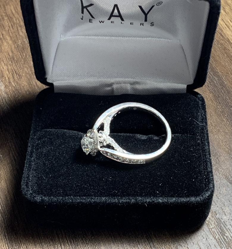 Kay Jewelers White Gold