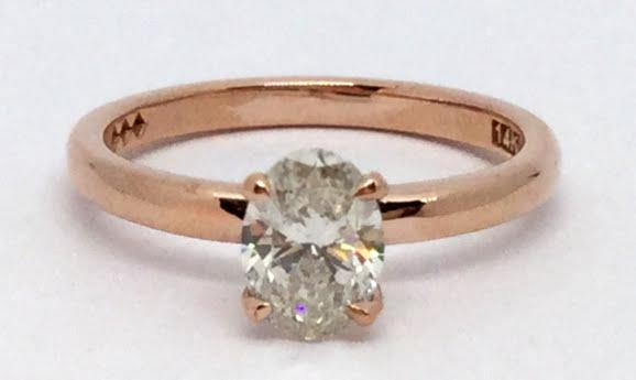 14K Rose Gold Engagement
