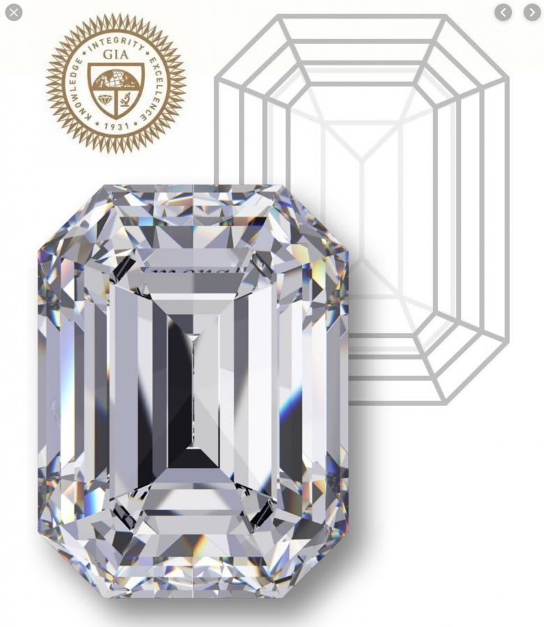 3.11 Platinum EMERALD DIAMOND