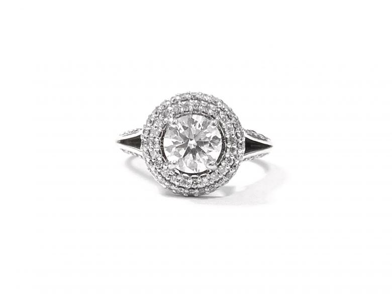 1.21ct Round Brilliant Diamond
