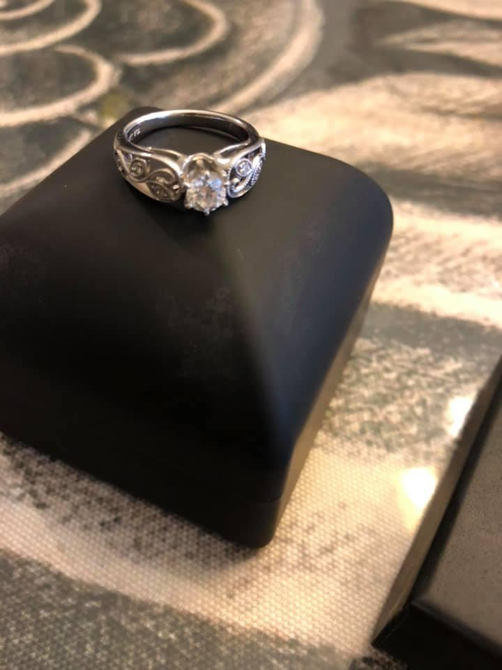 Robbins Brothers engagement ring