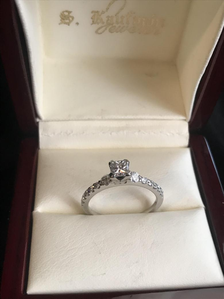 Engagement Ring 14 kt