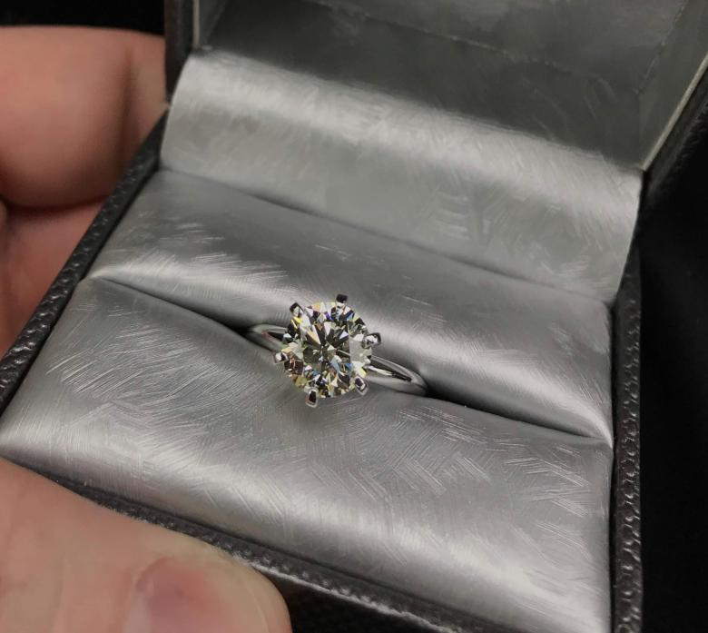 2.04 ct Diamond Solitaire