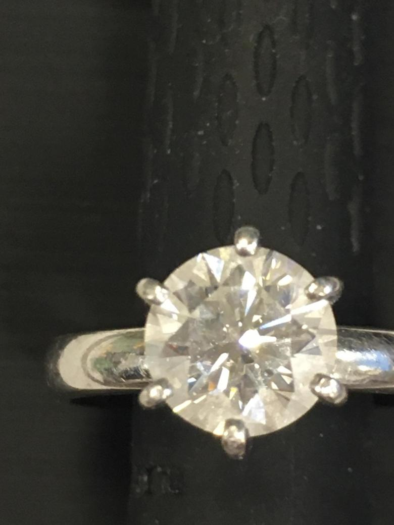 Lovely 1.63 carat engagement