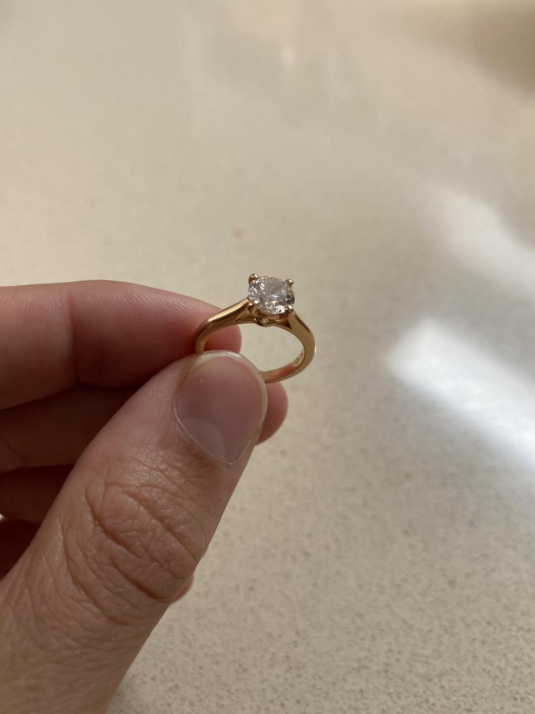 1895 Cartier Engagement Ring