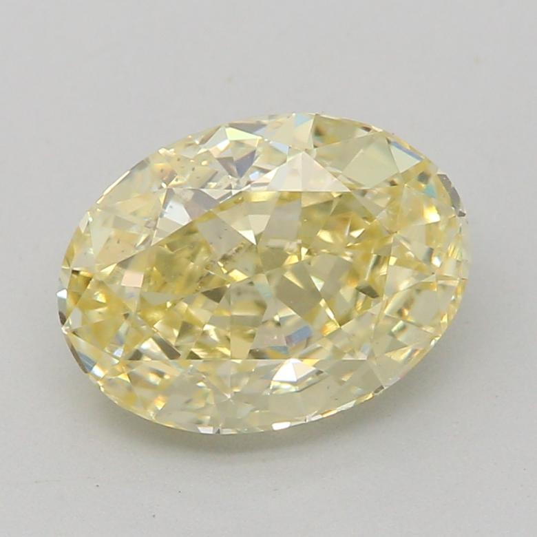 1.20-CARAT, FANCY LIGHT YELLOW